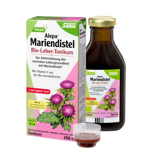 Salus® Alepa® Mariendistel Bio-Leber-Tonikum 250ml