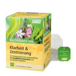 Salus® Bachblüten Tee Klarheit & Zentrierung bio 15 FB 6x30g