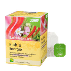 Salus® Bachblüten Tee Kraft & Energie bio 15 FB 6x30g
