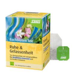 Salus® Bachblüten Tee Ruhe & Gelassenheit bio 15 FB 6x30g