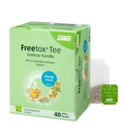 Salus® Freetox® Goldrute-Kamille Kräutertee bio 6x68g