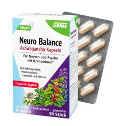 Salus® Neuro Balance Ashwagandha Kapseln 90 Stk 40g