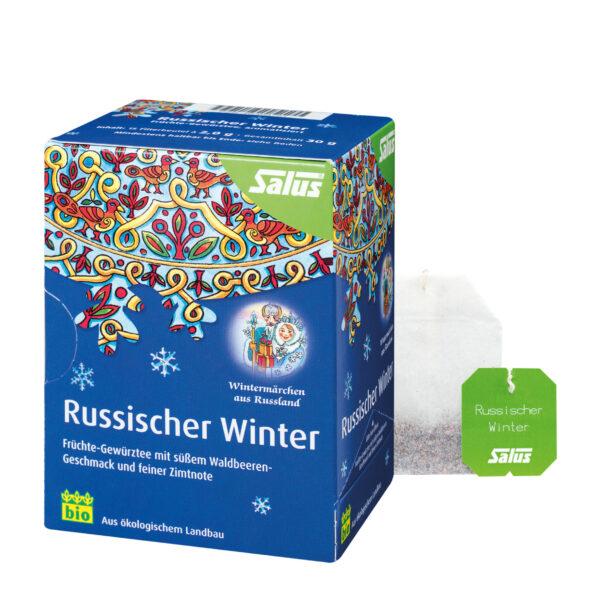 Salus® Russischer Winter, Früchte-Gewürztee bio 15 FB 6x30g