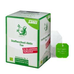 Salus® Stoffwechsel-Aktiv Tee bio 15FB 6x30g