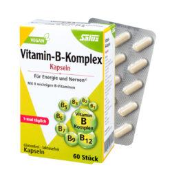 Salus® Vitamin-B-Komplex Kapseln 60 Kps. 22g