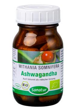 Sanatur Ashwagandha, bio 36g