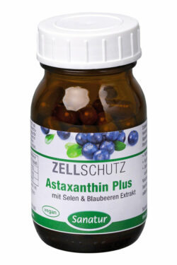 Sanatur Astaxanthin Plus, 60 Kapseln 30g