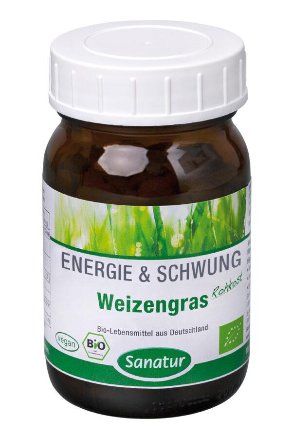 Sanatur Weizengras 250 Tabletten, kbA 100g