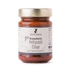 Sanchon Brotaufstrich Antipasti Olive, 6x190g