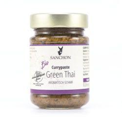 Sanchon Currypaste Green Thai, , Glutenfrei 6x190g