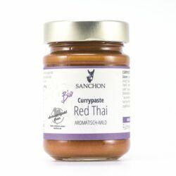 Sanchon Currypaste Red Thai, , Glutenfrei 190g