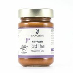 Sanchon Currypaste Red Thai, , Glutenfrei 6x190g