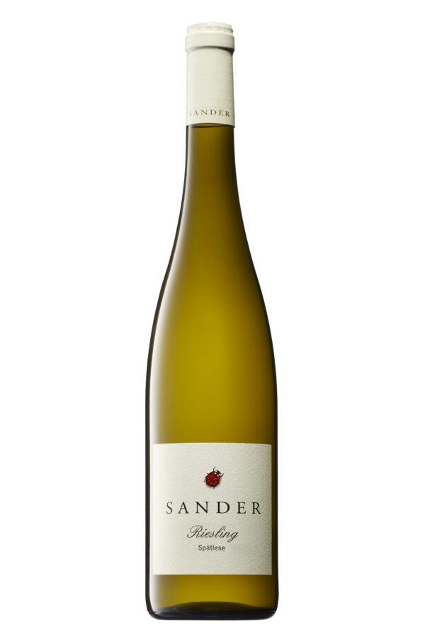 Sander – ökologische Weine Riesling Spätlese fruchtsüß 6x0,75l