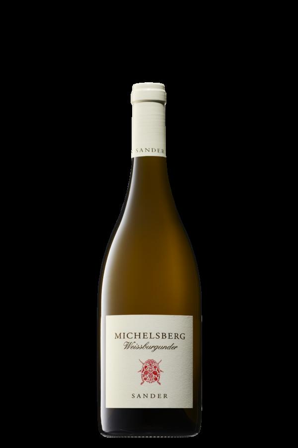 Sander – ökologische Weine Michelsberg Weißburgunder trocken 0,75l
