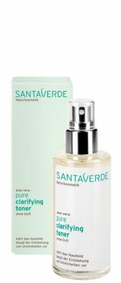 Santaverde pure clarifying toner ohne Duft 100ml