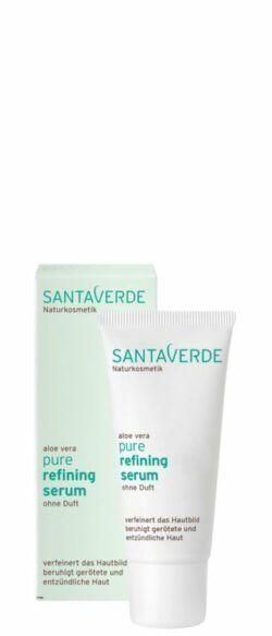 Santaverde pure refining serum ohne Duft 30ml