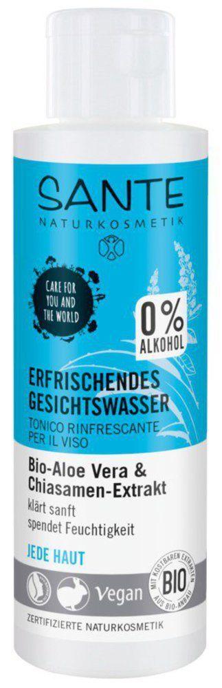 Sante Erfrischendes Gesichtswasser Bio-Aloe Vera & Chiasamen-Extrakt 125ml