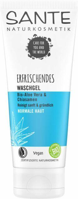 Sante Erfrischendes Waschgel Bio-Aloe Vera & Chiasamen 100ml