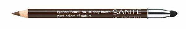 Sante Eyeliner Pencil No. 6 deep brown 1,3g