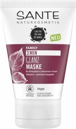 Sante FAMILY 3Min Glanz Maske Bio-Birkenblatt & pflanzliches Protein 100ml