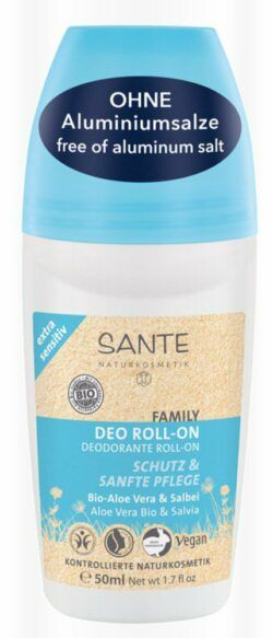 Sante FAMILY Deo Roll-on extra sensitiv Bio-Aloe Vera & Salbei 50ml