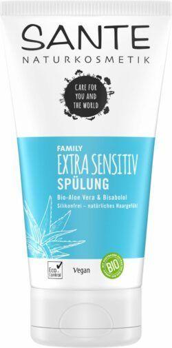 Sante FAMILY Extra Sensitiv Spülung Bio-Aloe Vera & Bisabolol 150ml
