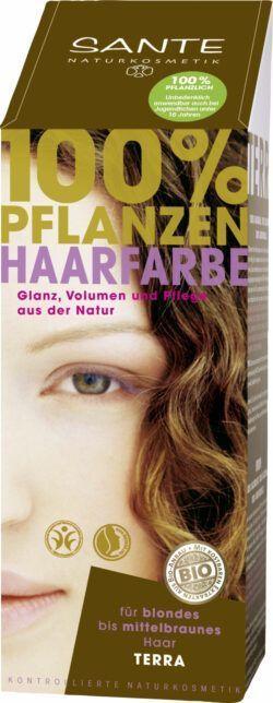 Sante Pflanzen-Haarfarbe terra 100g