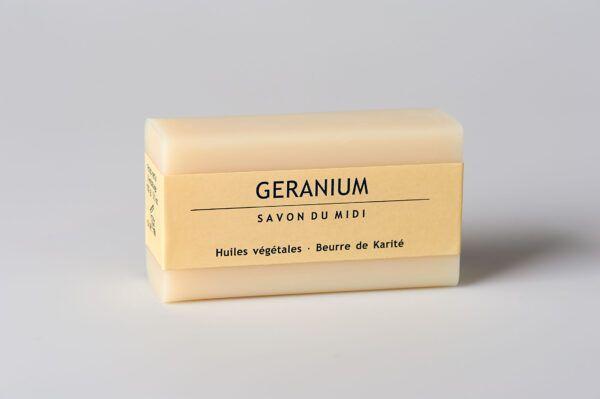 Savon du Midi Seife mit Karité-Butter Geranium 12x100g