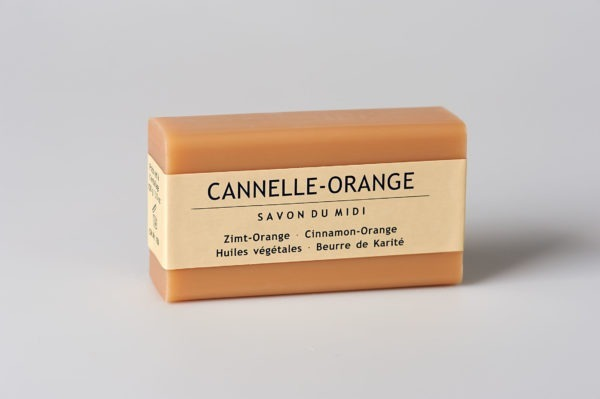 Savon du Midi Seife mit Karité-Butter Zimt-Orange 12x100g