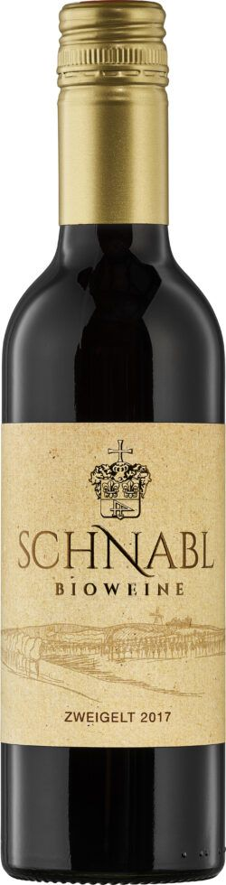 Schnabl Zweigelt Klassik 0,375 L 12x0,38l