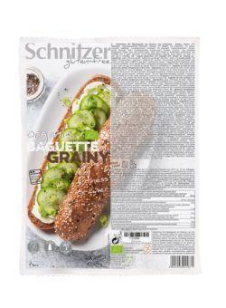 Schnitzer GLUTENFREE BIO BAGUETTE GRAINY 6x320g