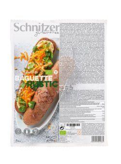 Schnitzer GLUTENFREE BIO BAGUETTE RUSTIC 6x320g