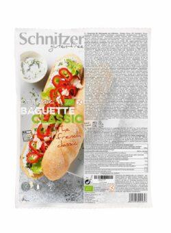 Schnitzer GLUTENFREE BIO BAGUETTE CLASSIC 6x360g