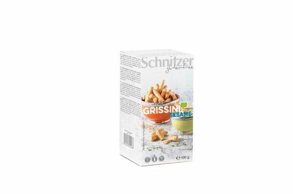 Schnitzer BIO GRISSINI SESAME 8x100g