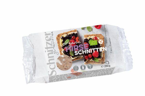 Schnitzer BIO HIRSE SCHNITTEN 6x250g