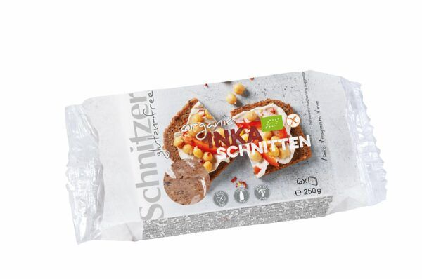 Schnitzer BIO INKA SCHNITTEN 6x250g