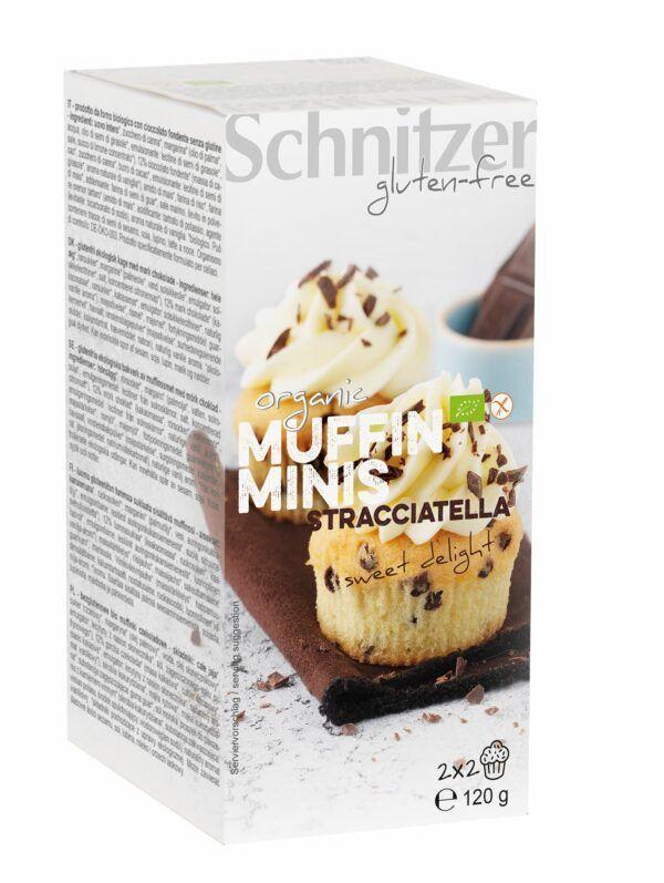 Schnitzer BIO MUFFIN MINIS STRACCIATELLA 6x120g