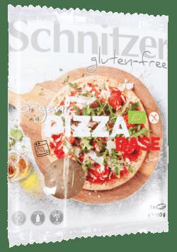 Schnitzer GLUTENFREE BIO PIZZA BASE 10x100g