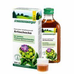Schoenenberger® Artischocke,Naturreiner Heilpflanzensaft bio 200ml