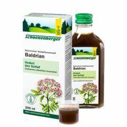 Schoenenberger® Baldrian, Naturreiner Heilpflanzensaft bio 200ml
