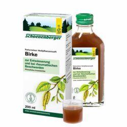 Schoenenberger® Birke, Naturreiner Heilpflanzensaft bio 200ml
