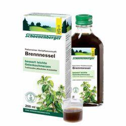 Schoenenberger® Brennnessel, Naturreiner Heilpflanzensaft bio 200ml