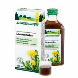 Schoenenberger® Löwenzahn, Naturreiner Heilpflanzensaft bio 200ml