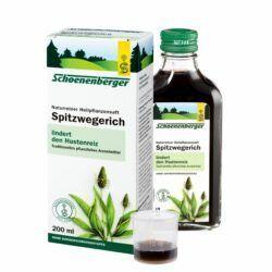 Schoenenberger® Spitzwegerich,Naturreiner Heilpflanzensaft bio 200ml