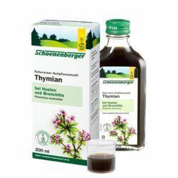 Schoenenberger® Thymian, Naturreiner Heilpflanzensaft bio 200ml