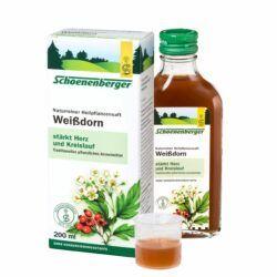 Schoenenberger® Weißdorn, Naturreiner Heilpflanzensaft 200ml