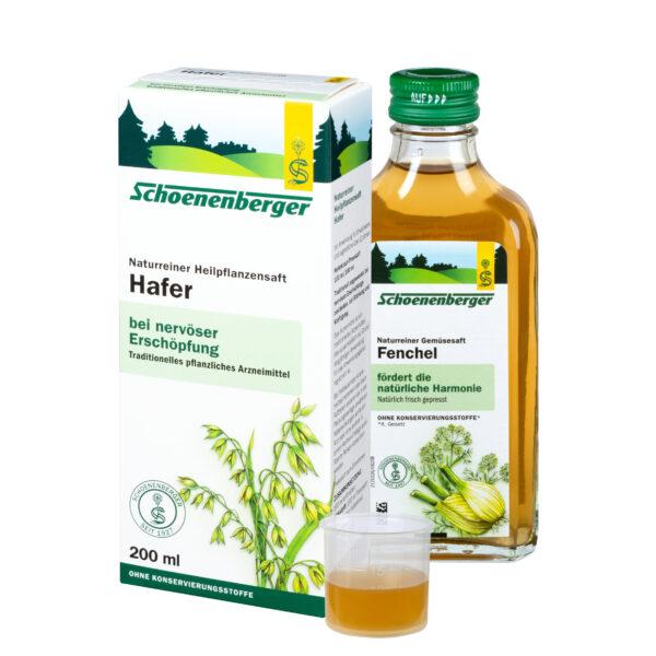 Schoenenberger® Hafer, Naturreiner Heilpflanzensaft bio 200ml