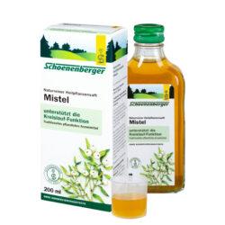 Schoenenberger® Mistel, Naturreiner Heilpflanzensaft bio 200ml