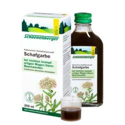 Schoenenberger® Schafgarbe, Naturreiner Heilpflanzensaft bio 200ml