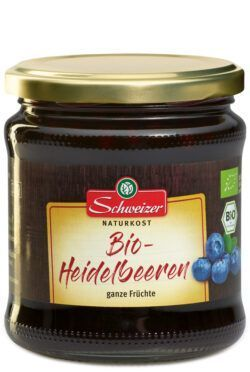 Schweizer Bio Heidelbeeren 6x350ml
